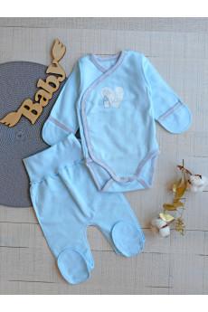 Комплект  для новорожденных c боди , ТМ Фламинго