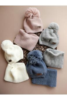 Комплект шапочка+хомут Грация ТМ Фламинго