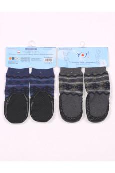 Махровые носочки с подошвой ТМ YO