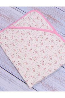 Пеленка для купания розовая, Турция