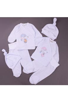 Комплект с распашонкой для новорожденных Teddy, ТМ Merry Bee
