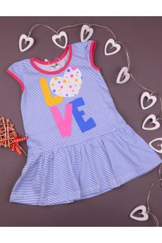 "Платье для девочки ""Love"" ТМ Merry Bee"