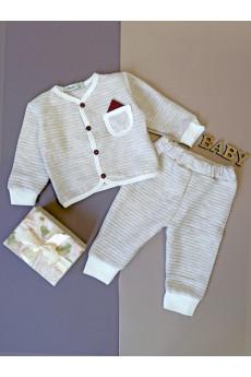 Кофта, штаны для мальчика Little F ТМ Няня