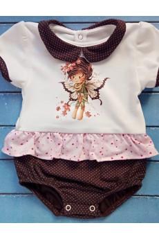 Летний боди-платье Бусинка ТМ Малена