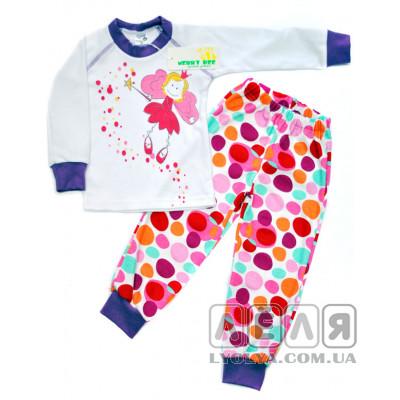 Пижама Little princess фиолетовая ТМ Merry Bee
