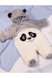 Купить Детский комбинезон на подкладе, велсофт Пандочка ТМ Кай & Герда