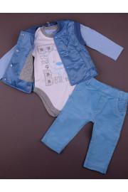 Комплект для мальчика Spring melody голубой ТМ Зиронька