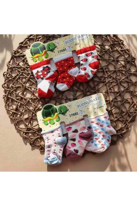 Купить Набор носков для малышей Божья коровка ТМ Buonumare baby