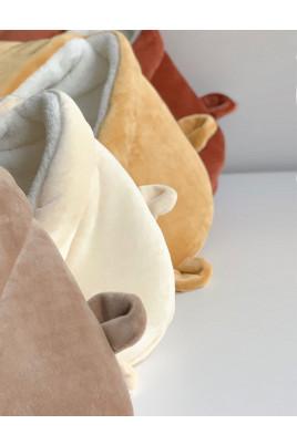 Купить Зимний Конверт - одеяло с капюшоном и ушками Ведмежа
