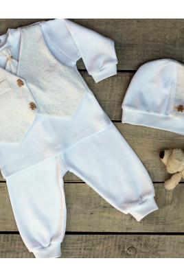 Купить Нарядный набор для мальчика Ведмежа рекомендуем для крещения