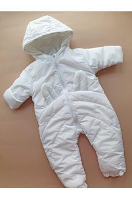 Купить Комбинезон демисезонный Белый зайка ТМ Одягайко