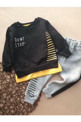 Стильный теплый костюм для малыша Dont stop, Турция
