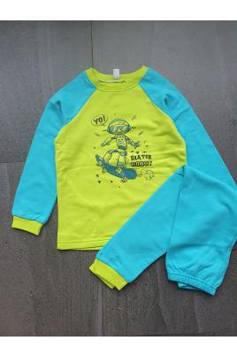 Купить Пижама ROBOT для мальчика, футер ТМ Sweet Mario