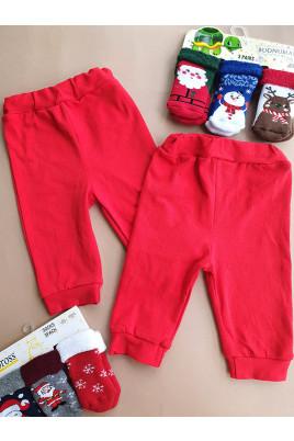 Красные штанишки для малышей,Timki Украина