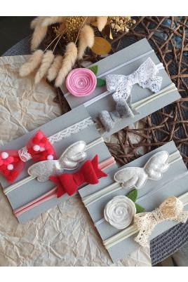 Купить Набор повязок Hand Made Эмми на голову для маленькой принцессы