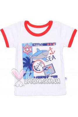"Футболка ""Sea"" ТМ Фламинго"