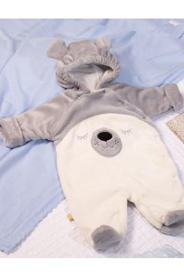 Купить Детский комбинезон на подкладе, велсофт Собачка ТМ Кай & Герда