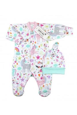 Купить Комплект боди для новорожденной в роддом Dance of stars ТМ Merry Bee