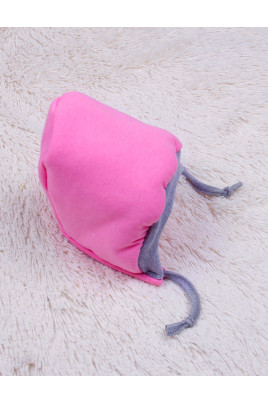 Утепленная шапочка Mini, розовая TM Brilliant Baby