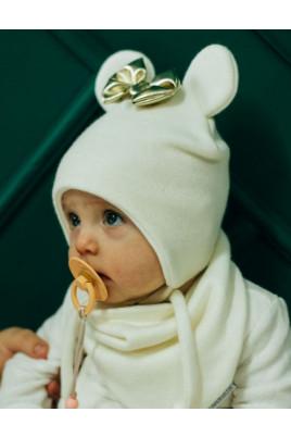 Купить Теплый набор шапка и снуд для девочки Микки ТМ Жоржик
