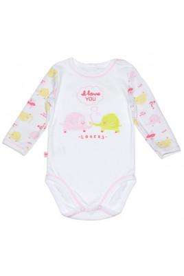 Бодик Любимым малышам розовый ТМ Smil