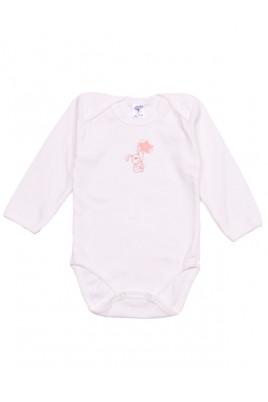 Каждая мама знает, что бодик - незаменимый элемент одежды любого Малыша - он очень удобен в использовании, с ним поменять подгузник - проще простого. Данная модель от украинского производителя ТМ Фламинго с длинными рукавами представлена в молочном цвете