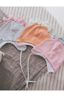 шапочка на завязках малышам
