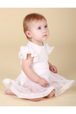 Нарядное боди-платье Бусинка