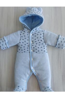 Теплый комбинезон новорожденным