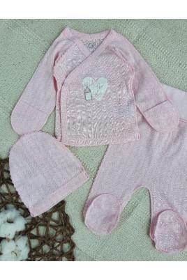 купить Комплект для новорожденных Ажур Фламинго