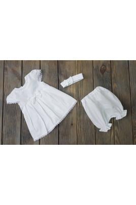 Купить Комплект нарядный для девочки Лаванда с платьем