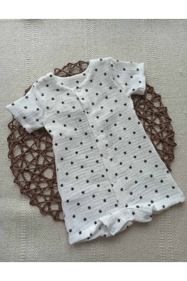 Ромпер для малышей с коротким рукавом Звёздочки