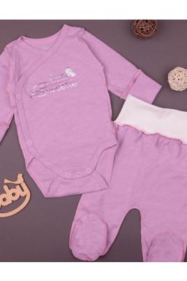 Комплект летний для новорожденных c боди , ТМ Фламинго