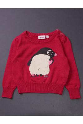 Кофточка для девочки Пингвин ТМ impidimpi, Германия