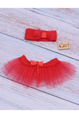 Комплект для девочки Фея красный ТМ Timki