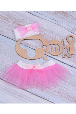 Комплект для девочки Фея розовый ТМ Timki