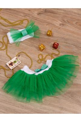 Комплект для девочки Фея зеленый ТМ Timki