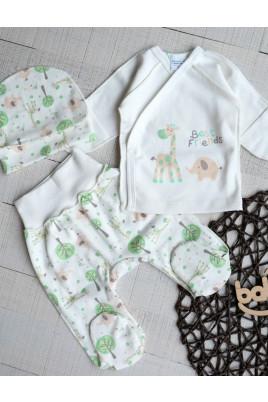 купить комплект для новородженного в роддом ясельный набор распашонка