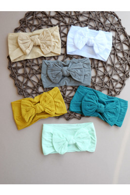 Купить Стильные повязки на девочку Бантик