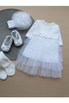 купить платье на выписку нарядное