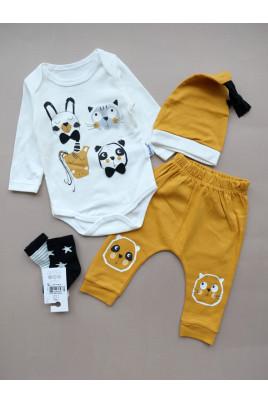 купить Комплект для малыша с боди Baby ZOO ТМ Miniworld