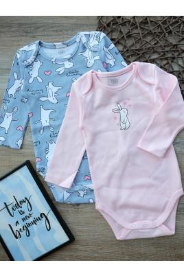 Купить Комплект боди Cute Bunny ТМ Фламинго
