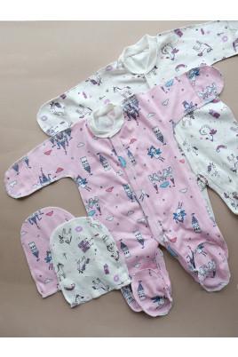 Купить Комплект для новорожденных с человечком Сказка ТМ Пупчик
