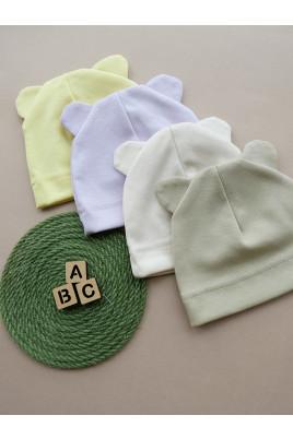 Купить Шапочка для малышей Ведмежа в разных цветах