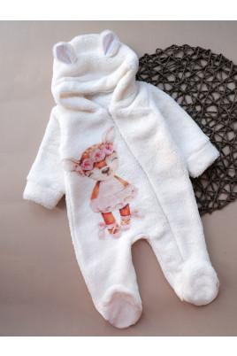 Купить Комбинезон с ушками для малышей на молнии Милашка, ТМ Timki
