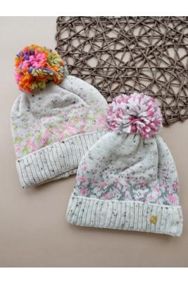 купить теплую шапку девочке