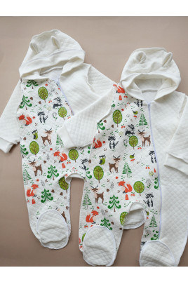 Детский комбинезон для малышей Forest, ТМ Timki
