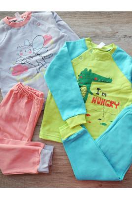 купить теплую  пижаму для малышей