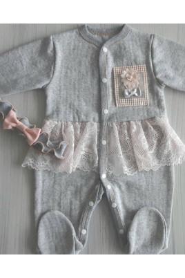 купить нарядный комплект для девочки фотосессия новорожденных комплект из футера для новорожденных Харьков Броды Фастов