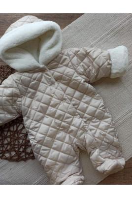 Купить Комбинезон утепленный с капюшоном для малышей Барни